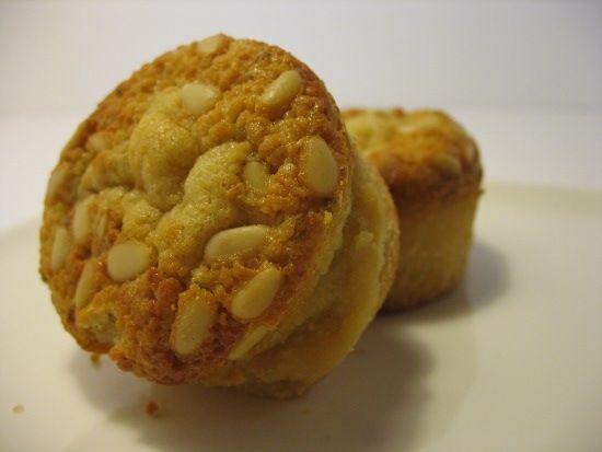 Muffins miel - pignons de pin 2