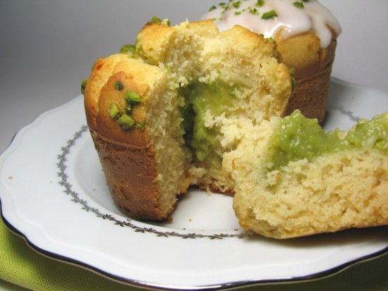 Muffin miel pistache