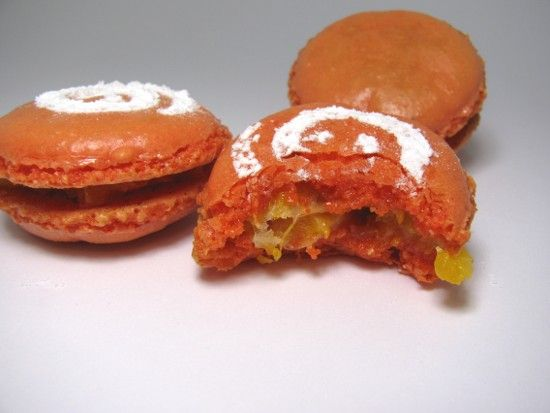 Macaron mandarine