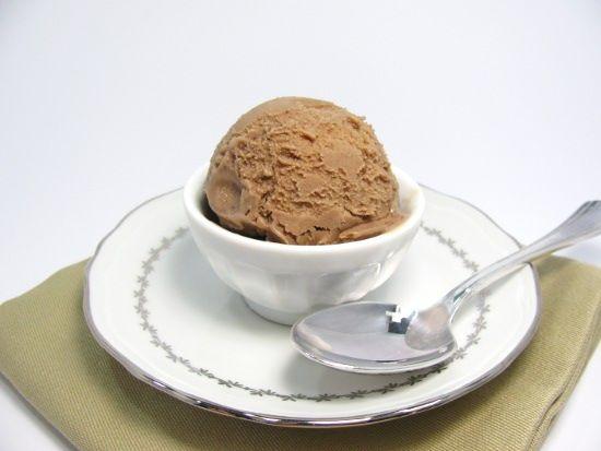 Glace chocolat miel