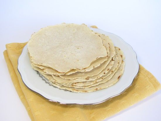 Tortillas mais sans gluten