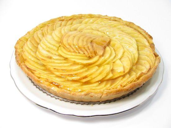 Recette de tarte aux pommes patissière sans gluten