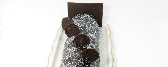 Buche chocolat sans gluten