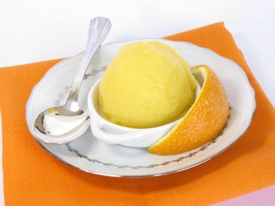 Recette glace orange